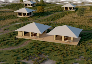 Eco Tent | Animated Construction Sequence