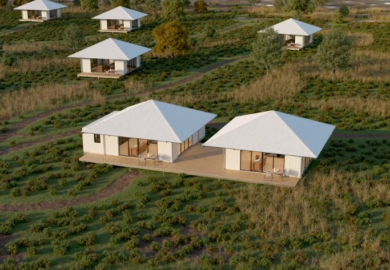 Eco Cabin | Animated Construction Sequence